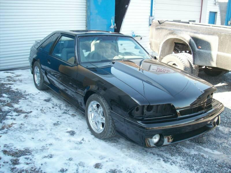 Nasty93 1993 Ford Mustang Gt